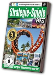 Strategie-Spiele Paket - 4 Original-Vollversionen in einer Box!