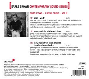 Earle Brown-A Life in Music Vol.6