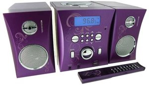 Kompaktanlage MP3 - USB Music Center MCD06 - Arabesque, Lila