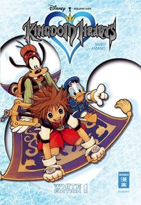 Amano, S: Kingdom Hearts White Edition 01 (+Schuber)