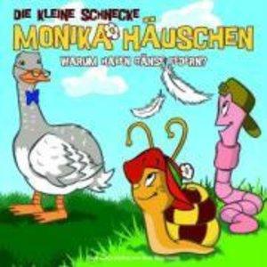 Die kleine Schnecke Monika Häuschen 02. Warum haben Gänse Federn