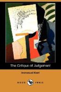 The Critique of Judgement (Dodo Press)