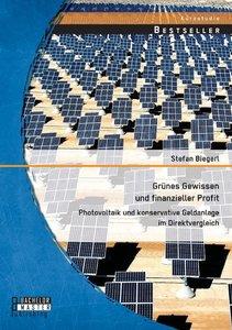 Grünes Gewissen und finanzieller Profit: Photovoltaik und konser