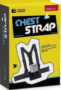 Speedlink - Chest Strap - Brustgurt Halterung für GoPro, schwarz