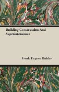Building Construction And Superintendence
