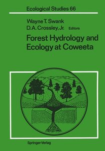 Forest Hydrology and Ecology at Coweeta