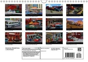 American Model Cars / UK-Version (Wall Calendar 2015 DIN A4 Land
