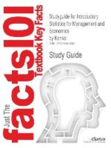 Studyguide for Introductory Statistics for Management and Econom
