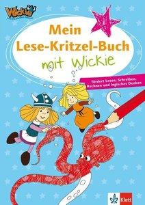 Mein Lese-Kritzel-Buch mit Wickie
