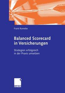 Balanced Scorecard in Versicherungen