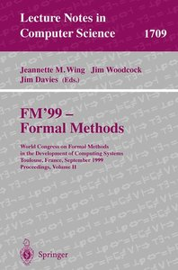 FM'99 - Formal Methods
