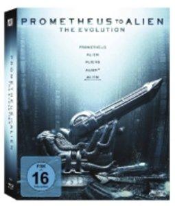 Prometheus to Alien: The Evolution