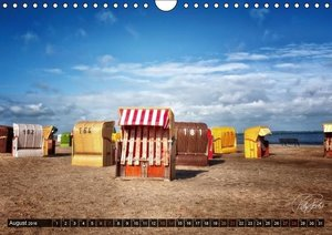 Friesland - Nordseebad Dangast (Wandkalender 2016 DIN A4 quer)