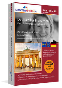 Sprachenlernen24.de Deutsch für Franzosen Basis PC CD-ROM