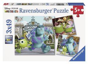 Ravensburger 09426 - Monster University Mike und Sully, Puzzle 3