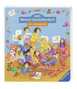 Mein Wimmel-Geschichten-Buch: Im Kindergarten