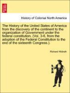 The History of the United States of America from the discovery o