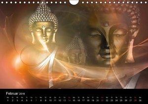 Buddha und Yin Yang (Wandkalender 2016 DIN A4 quer)