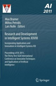 Proceedings of AI-2011: Research and Development in Intelligent