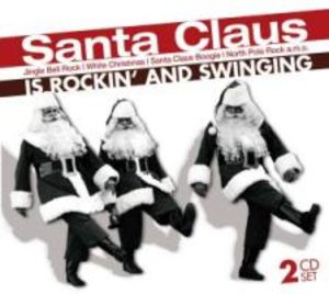 Santa Claus Is Rocking And Swinging