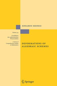 Deformations of Algebraic Schemes