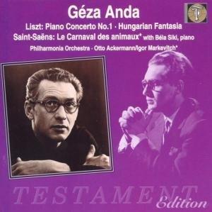Geza Anda: Liszt & Saint-Saens