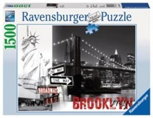 Ravensburger 16268 - Brooklyn Bridge, Puzzle, 1500 Teile