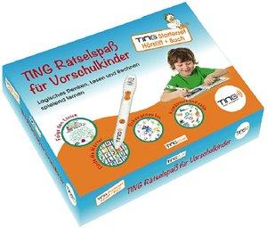Ting Starter-Set Hörstift und Buch: Ting-Rätselspaß für Vorschul