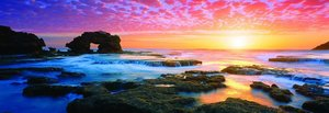 Panoramapuzzle Bridgewater Bay Sunset, Victoria, Australia