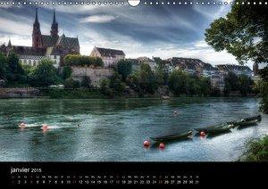Bâle, une ville sur le Rhin (Calendrier mural 2015 DIN A3 horizo