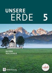 Unsere Erde 5. Jahrgangsstufe - Realschule Bayern - Schülerbuch