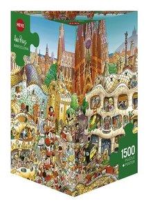 Prades Barcelona Puzzle 1500 Teile