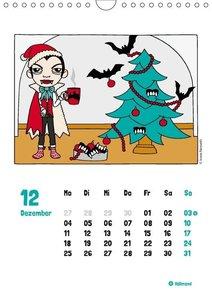 Draculendar 2017 (Wandkalender 2017 DIN A4 hoch)