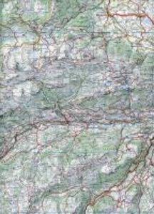 KuF Schweiz Wanderkarte 17 Saanenland / Simmental 1 : 60 000. Wa