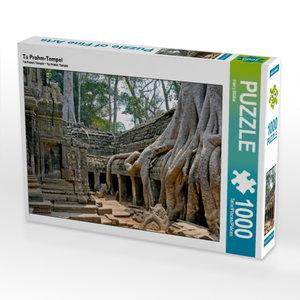 Ta Prohm-Tempel 1000 Teile Puzzle quer
