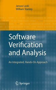Software Verification and Analysis