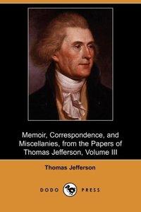 MEMOIR CORRESPONDENCE & MISCEL