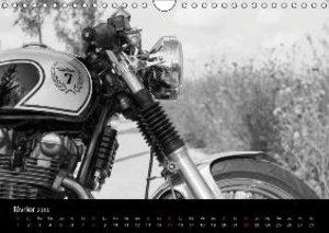 Une moto de caractère (Calendrier mural 2015 DIN A4 horizontal)