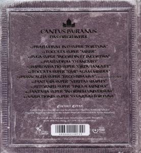 Cantus Buranus-Das Orgelwerk