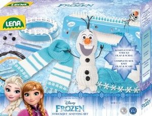 Disney Frozen - Die Eiskönigin Strickset 2in1 enthält Strickring