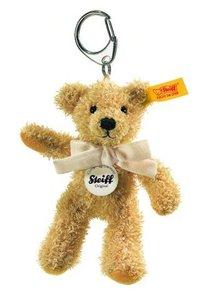 Steiff 111587 - Schl.-anh. Sophie Teddy goldbraun, 12cm