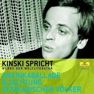 Kinski Spricht Aus Der Amerikaballada Und Der Dich
