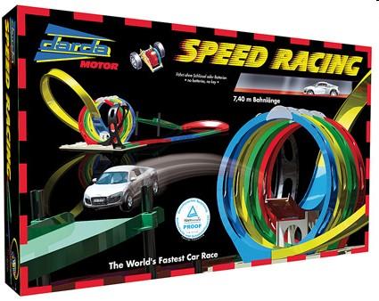 Darda 50142 - Speed Racing inklusive Audi R8, 730cm Streckenläng - zum Schließen ins Bild klicken