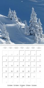 Magical Winter Impressions (Wall Calendar 2015 300 × 300 mm Squa
