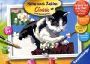 Ravensburger 278572 - Tapsiges Kätzchen, MNZ, Malen nach Zahlen