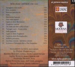 Le Musiche De Bellerofonte Castaldi