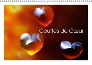 Gouttes de Coeur (Calendrier mural 2015 DIN A3 horizontal)