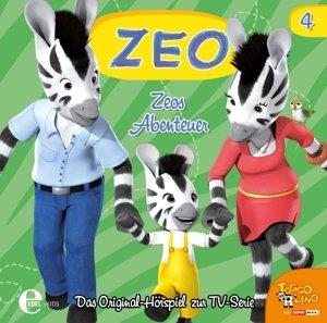 (4)Original Hörspiel z.TV-Serie-Zeos Abenteuer