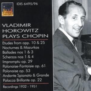 Vladimir Horowitz Plays Chopin