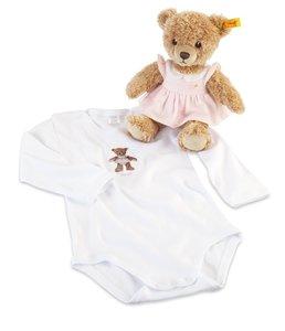 Steiff 239670 - Geschenkset: Schlaf-gut-Bär klein, 25 cm